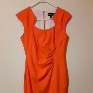 Dana Buchman dress size 6 Orange